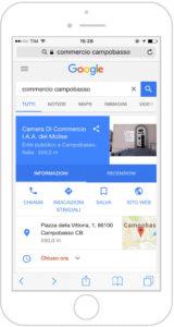 mybusiness mobile camera commercio campobasso